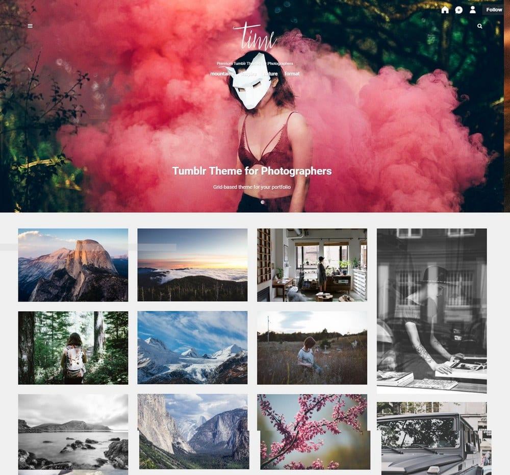 time-grid-tumblr-theme