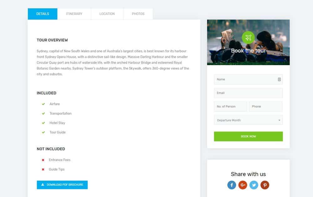 travel-website-booking