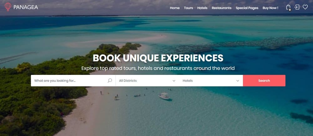 travel-website-search