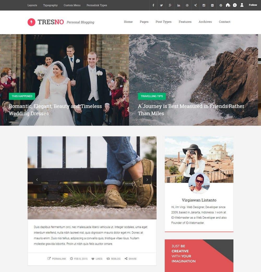 tresno-two-column-tumblr-theme