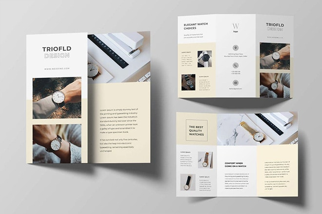 20+ Best Tri-Fold Brochure Templates for Word & InDesign