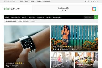 TrueReview – Deals, Review, and Magazine WordPress Theme