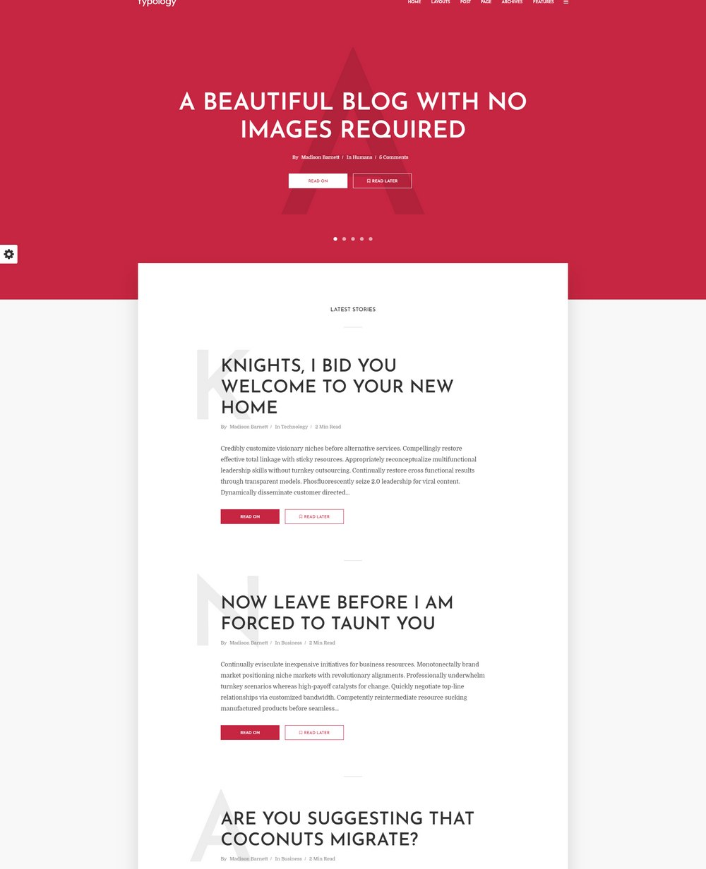 typology-easiest-wordpress-theme