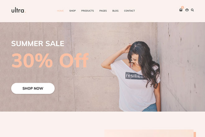 Ultrastore: Our New WooCommerce Theme