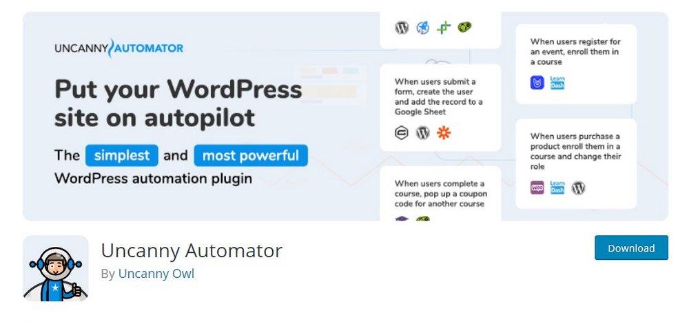 plugin wordpress automator yang luar biasa