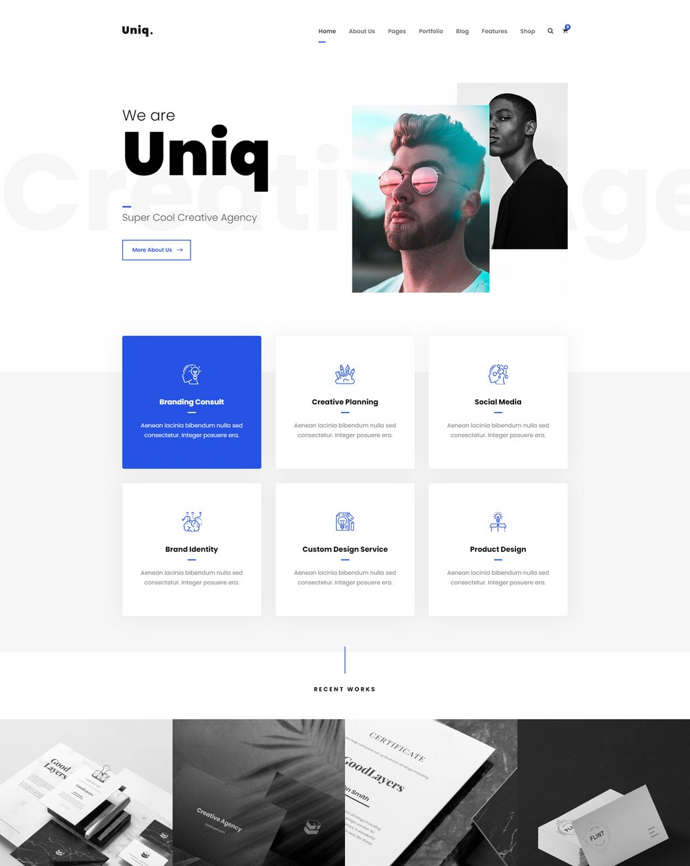 uniq-easiest-wordpress-theme