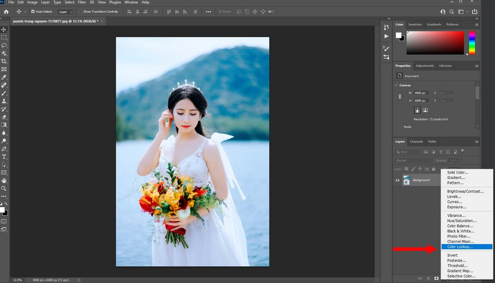 use luts in Photoshop 1