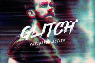 25+ VHS Effect Filters for Photoshop (Glitch & VHS Actions)