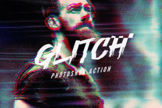 20+ VHS Effect Filters for Photoshop (Glitch & VHS Actions)