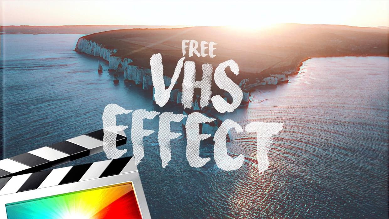 vhs effect final cut pro