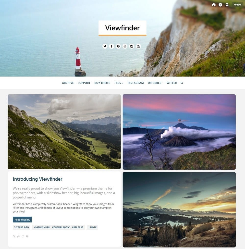 viewfinder-tumblr-theme