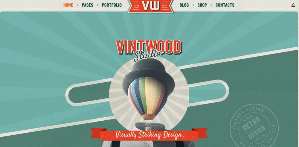 vintage-theme-example-colors