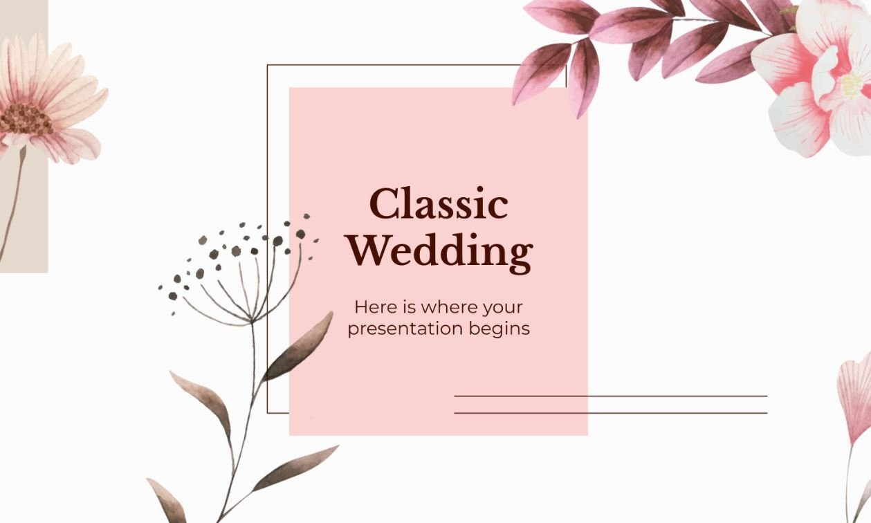 20 Romantic Wedding Slideshow Ideas Powerpoint Ppt Templates Theme Junkie