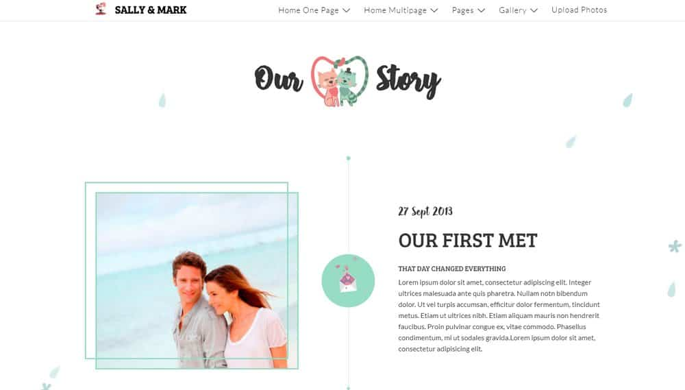 wedding-website-story