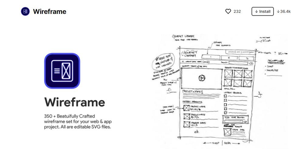wireframe figma plugin