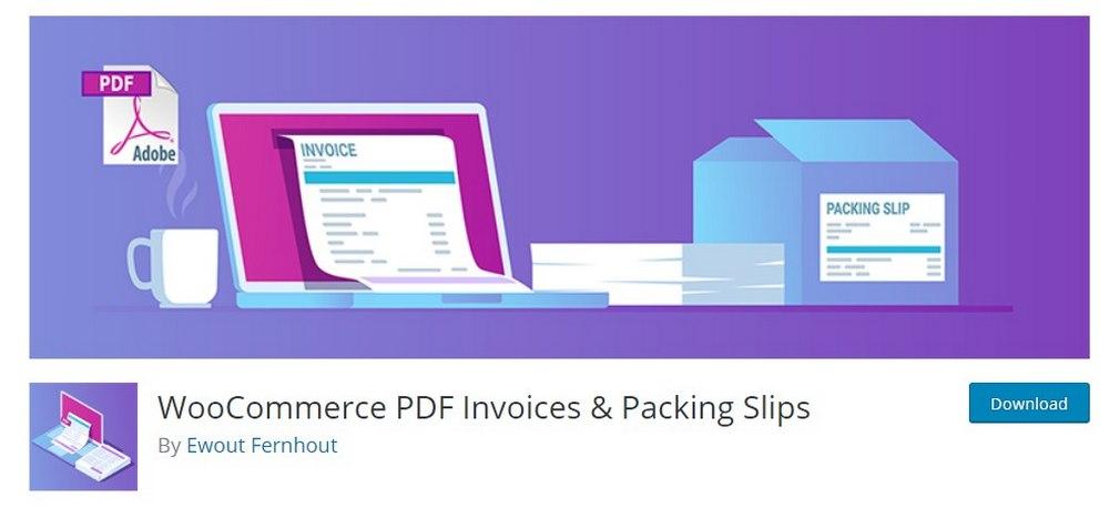 woo pdf invoices