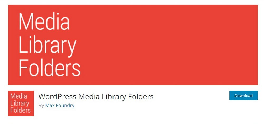 wordpress media library folders