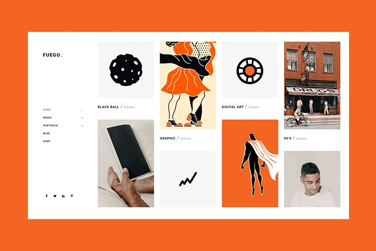 30 Best Wordpress Themes For Artists Theme Junkie