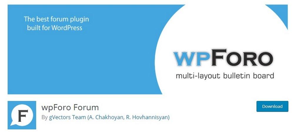 plugin wpForo