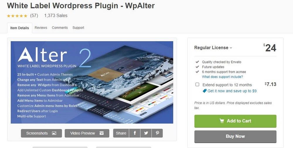 wpalter plugin