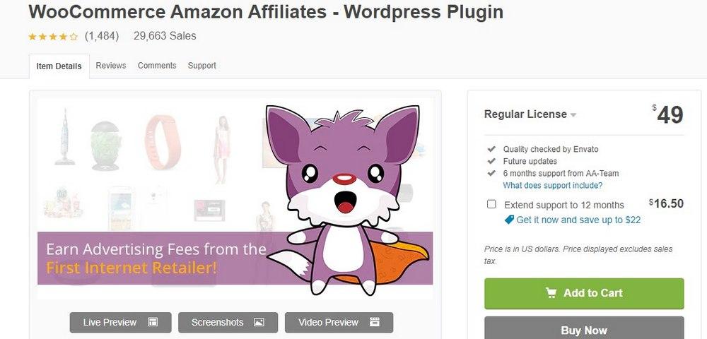 wzone amazon affiliates