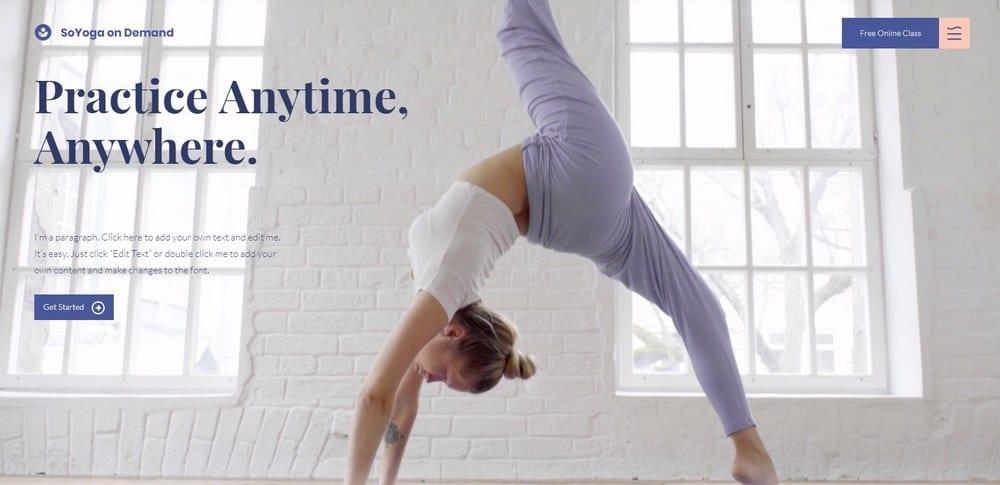 yoga-wix-template
