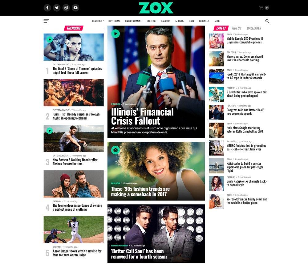 zoxnews-wp-theme